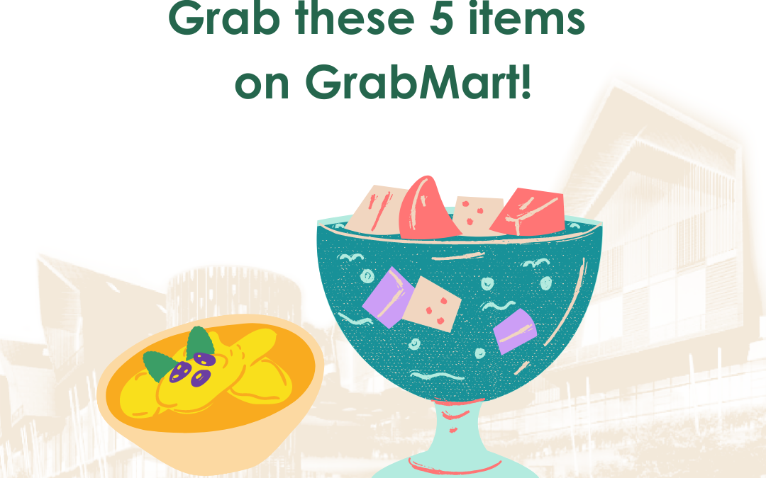 You can conveniently grab these 5 items on GrabMart!